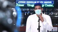 Bobby Nasution dalam keterangannya di RS YPK Mandiri