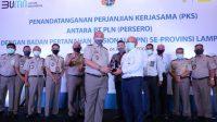 PLN lakukan Kerjasama dengan BPN se-Provinsi Lampung
