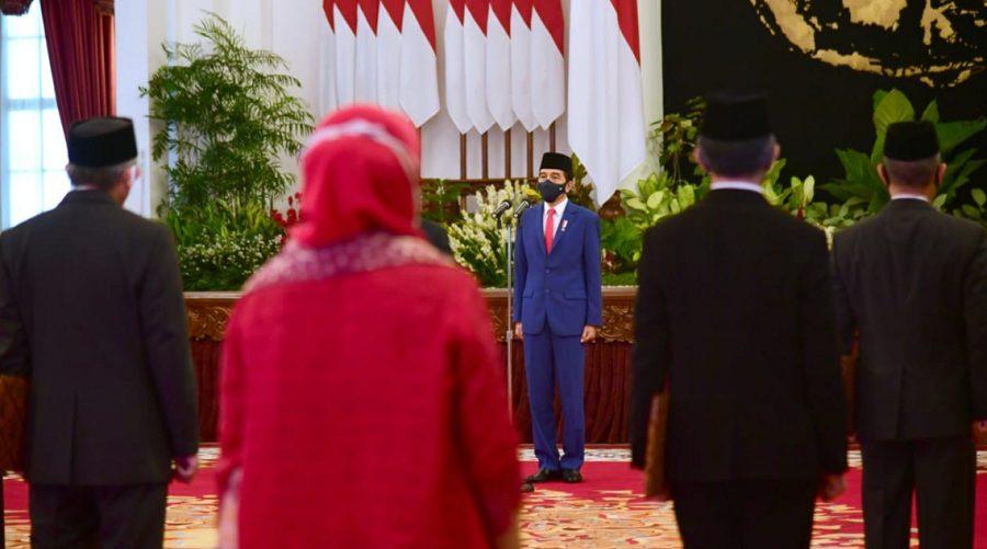 Sebanyak 17 nama anggota KKI ditetapkan berdasarkan Keputusan Presiden Republik Indonesia Nomor 55 M Tahun 2020