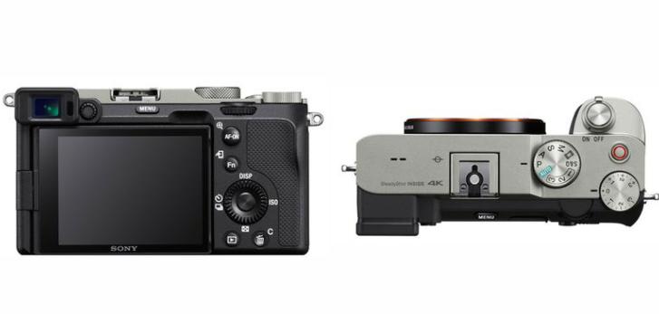 Desain Body Kamera Sony A7c