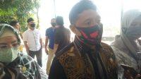 Ketua DPRD Bandar Lampung Wiyadi saat membverikan keterangan
