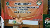 Pengukuhan Pengurus Dharma Wanita Persatuan Kabupaten se Provinsi Banten 2019-2024