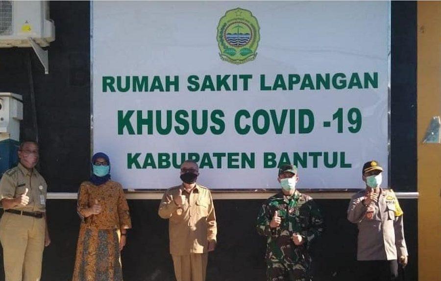 Rumah Sakit Lapangan Khusus Covid-19 di Bantul