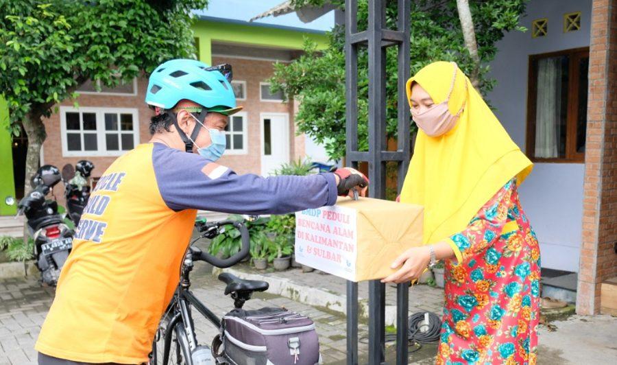 SD BMD Pandeansari Peduli Bencana Alam di Kalimantan dan Sulbar