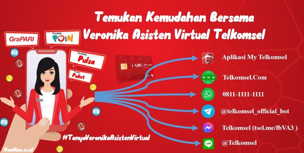 Bagaimana Cara Mengakses Asisten Virtual Telkomsel