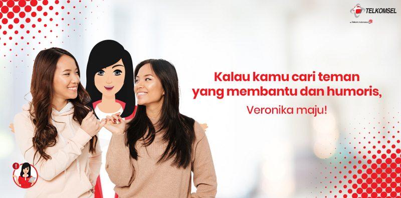 Veronika Siap Jadi Teman Terbaik Mu (Telkomsel)