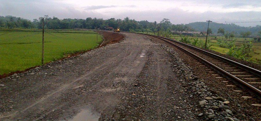 Ilustrasi Proyek Double Track