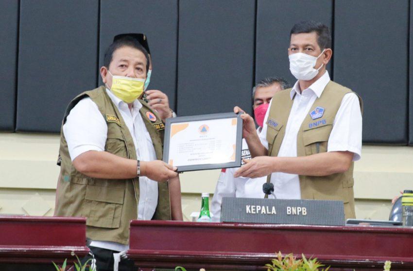 Ketua Satgas Covid-19 berikan apresiasi kepada Gubernur Lampung