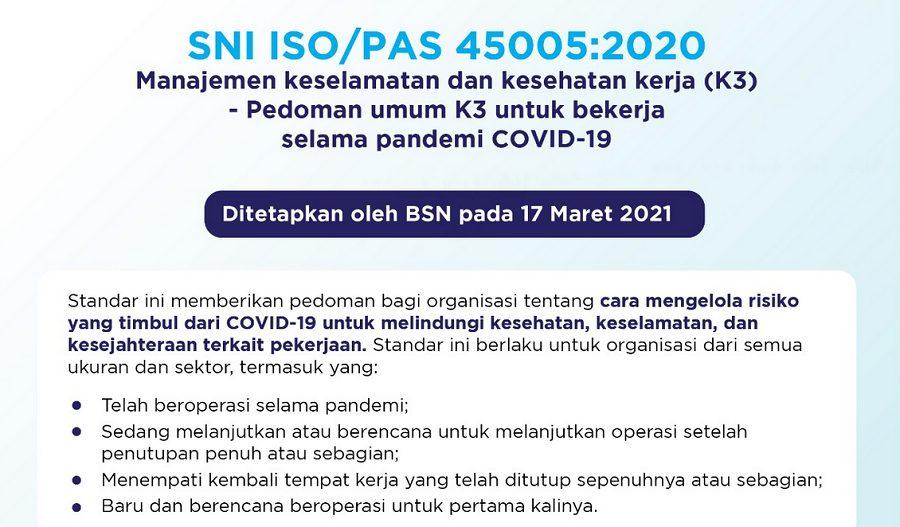 Manajemen Keselamatan dan Kesehatan Kerja Pedoman Umum Selama Covid-19