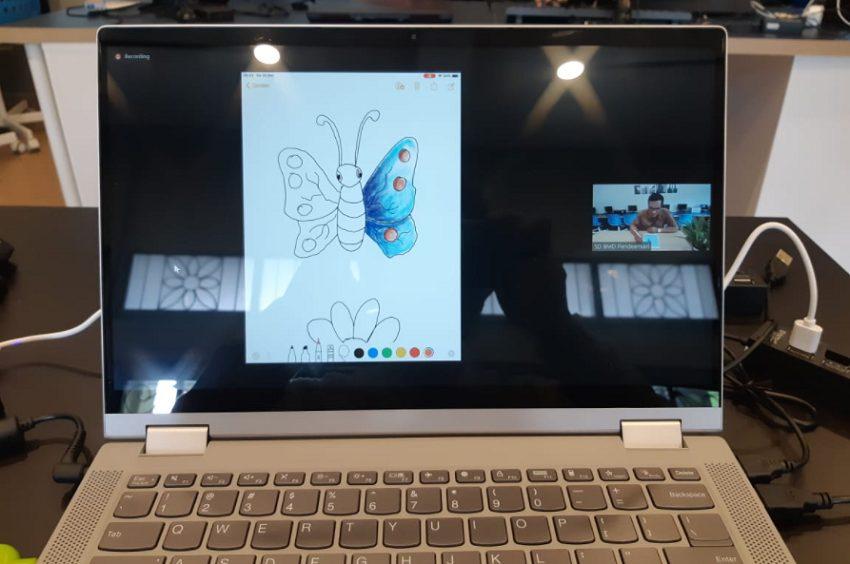 Online Fun Learning di SD Budi Mulia Dua Pandeansari secara Virtual