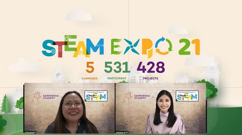 Steam Expo 2021 yang dilakukan secara virtual