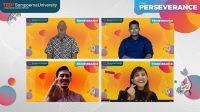 TEDxSampoerna University Buka Webinar tema Perseverance