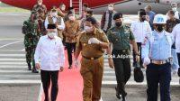 Wapres KH Maruf Amin tiba di Bandar Udara Radin Inten II