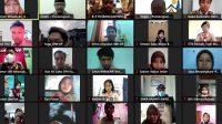 Kwartir Daerah Gerakan Pramuka Daerah Istimewa Yogyakarta mengajak para Dewan Saka Pramuka se-Yogyakarta menjadi Pewarta Istimewa via Zoom