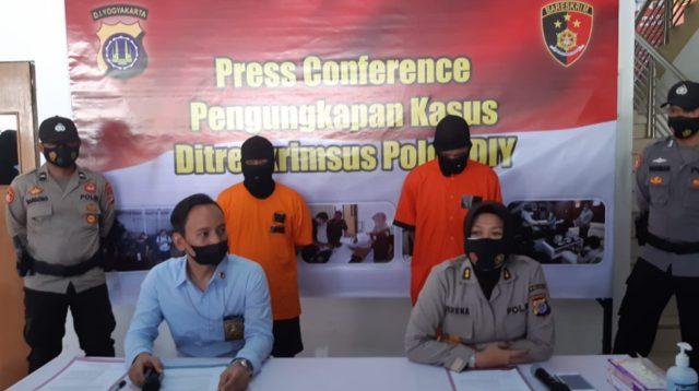 Press Conference ungkap kasus memperniagakan satwa yang dilindungi Ditreskrimsus Polda DIY