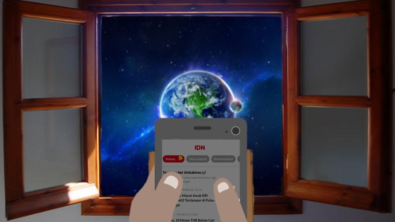 dengan IDN App informasi dunia ada dalam genggaman