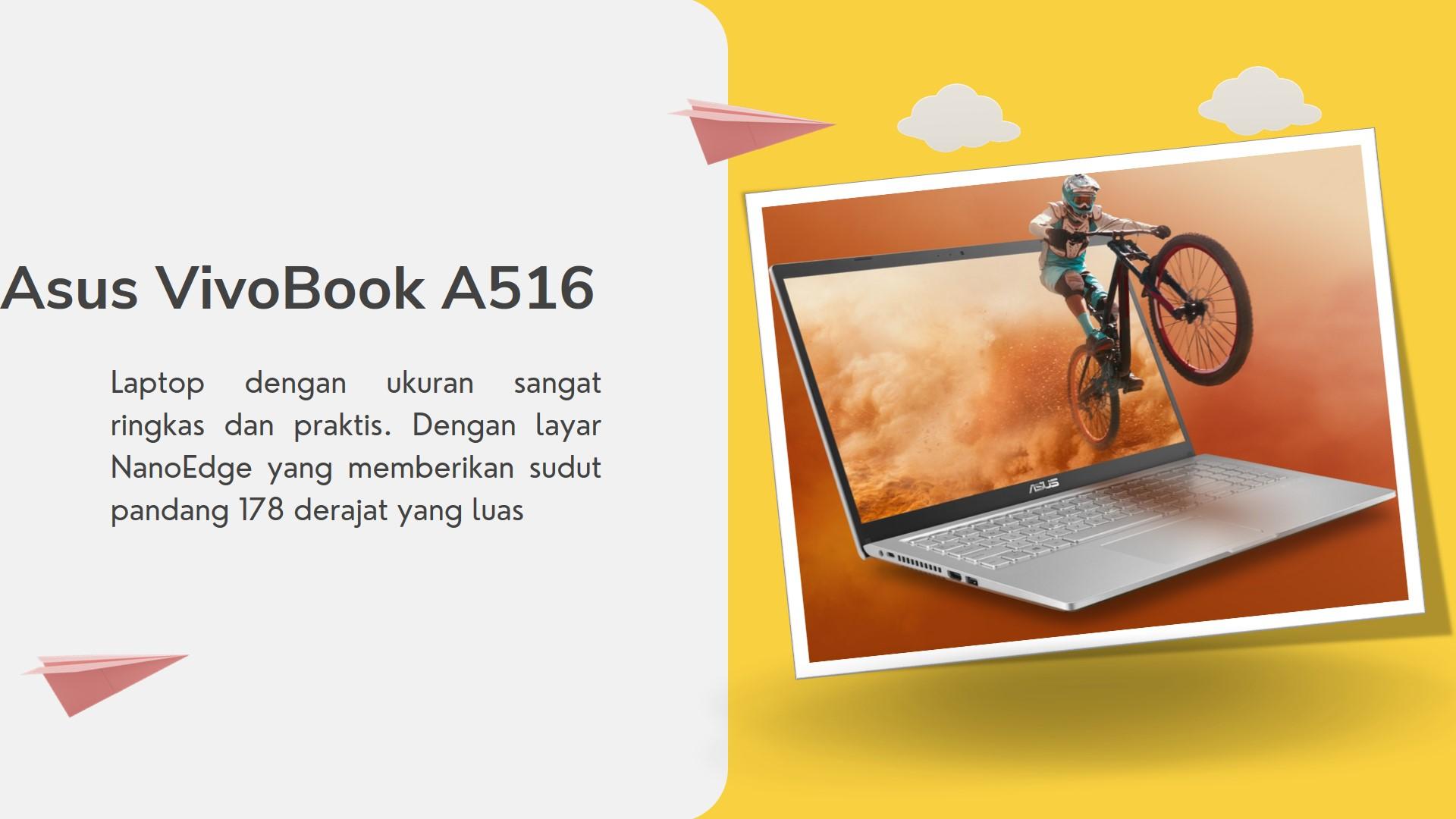 Harga Baru dan Bekas ASUS VivoBook 15 A516