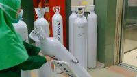 Polda DIY Kirimkan Bantuan 100 Tabung Oksigen ke RSUP Dr Sarjito
