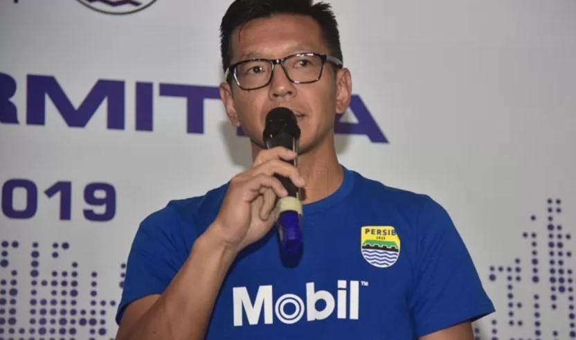 Direktur PT Persib Bandung Bermartabat Teddy Tjahjono