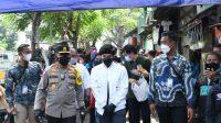 Gandeng Atta Halilintar polri bagikan baksos untuk korban PHK di Cakung