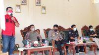 Kegiatan Sosialisasi PPKM Level 4 di Desa Bukit Berlian Kecamatan Ulok Kupai Kabupaten Bengkulu Utara