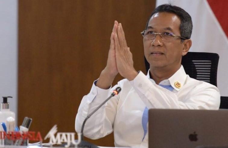 Kepala Sekretariat Presiden Heru Budi Hartono menyerahkan bantuan beras sebanyak 500 ton bagi masyarakat Bali secara virtual