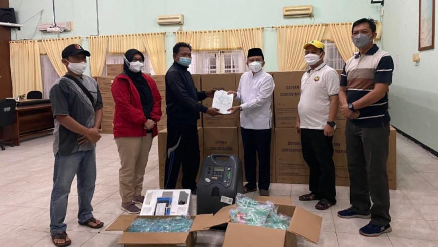 Pemerintah Provinsi Bengkulu Terima Bantuan Oksigen dari Kementerian Kesehatan