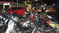 Polisi berhasil amankan 13 sepeda motor dan gagalkan Tawuran antar Remaja