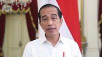 Presiden Joko Widodo memberikan keterangan pers terkait harga tes PCR di Istana Merdeka