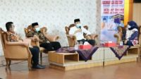 Anggota Komis E DPRD Jateng Endro Dwi Cahyono saat menjadi narasumber dalam Prime Topic dengan tema Bersiap Ibadah Haji dan Umrah yang disiarkan dari Lantai IV Gedung Berlian DPRD Jateng