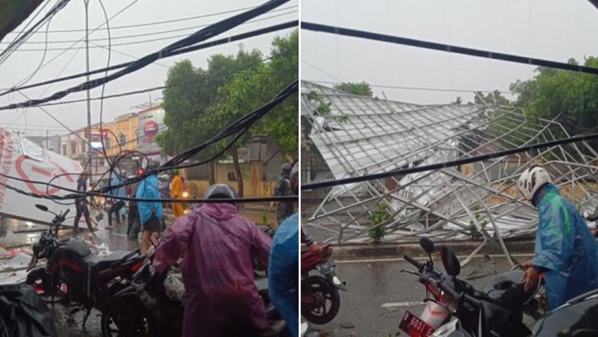 Penyebab Badai di Depok Jawa Bawar Hari ini
