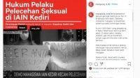 Petisi Hukum Pelaku Pelecehan Seksual IAIN Kediri