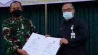 Wali Kota Magelang Muchamad Nur Aziz saat menghadiri pembukaan TMMD Reguler ke-112 Sengkuyung Tahun Anggaran 2021