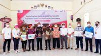 OJK Lampung mengadakan kegiatan sosialisasi dan edukasi mengenai industri pasar modal dan asuransi kepada perangkat desa dan masyarakat di Lampung Selatan